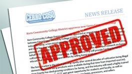 Kern Community College District Approves New Cerro Coso Partnership