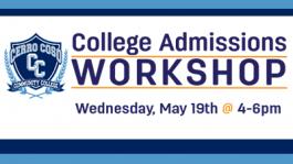 College Admissions Workshop