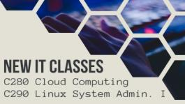 New Classes in Cloud Computing and Linux