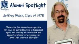 Jeff Welsh Alumni Spotlight