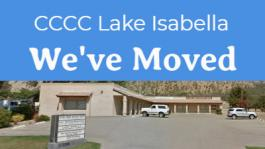 Lake Isabella Location has moved