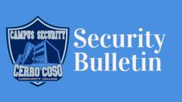 Security Bulletin