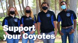 Support your Coyotes graphic