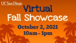 UC San Diego Virtual Fall Showcase