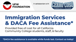 UFW CPP Services All-Year DACA Fee assitance