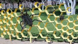 Bees New Edition to College Sculpture Garden