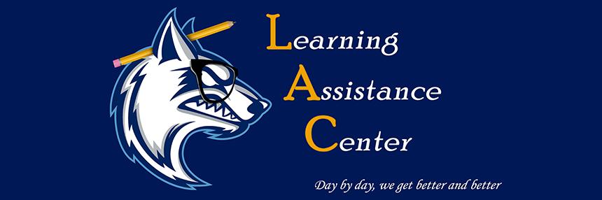 Learning Assistance Center header