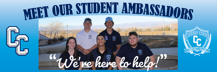 "Meet Our Student Ambassadors: ""We're Here to Help"""