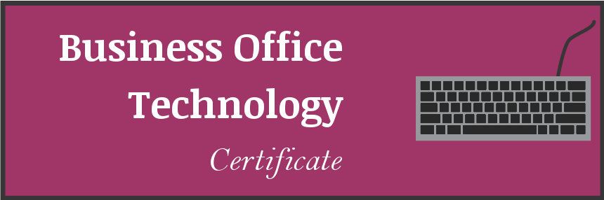 Business Office Technology Certificate