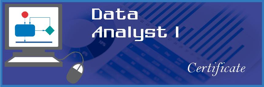 Data Analyst I Certificate