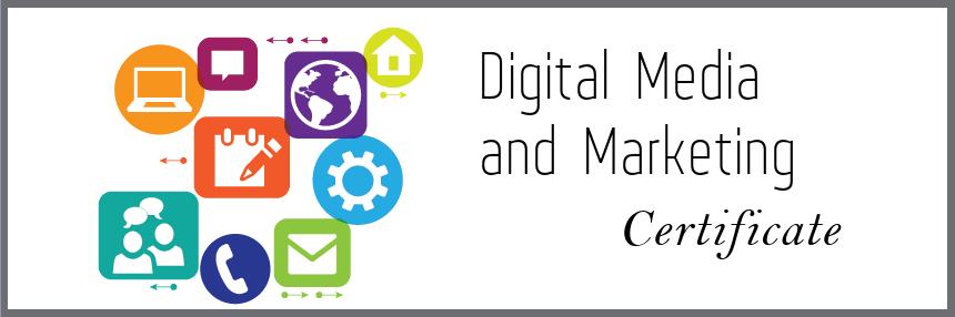 Digital Media and Marketing Certificate