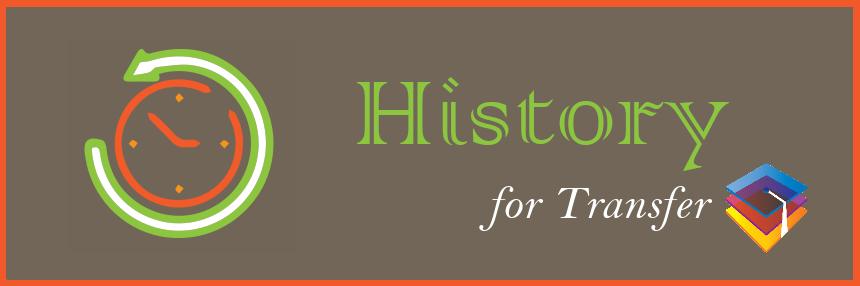 History for Transfer