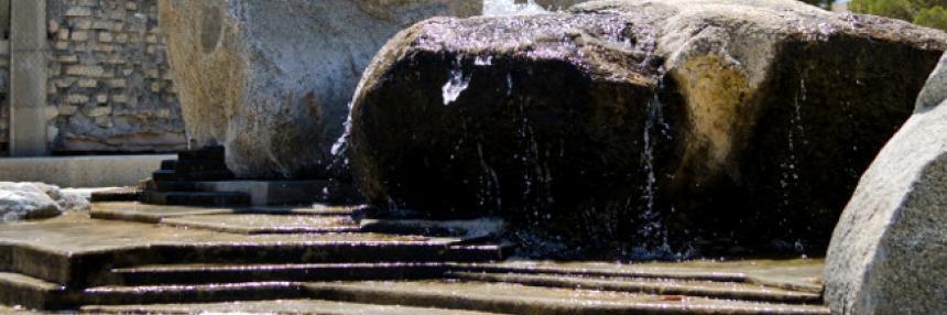Closeup of Fountain