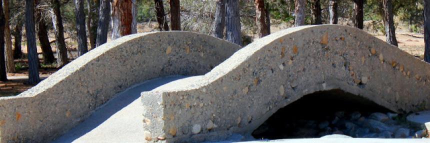 Bridge to Fountain Area