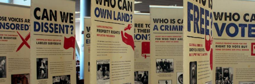 Library Display for Freedom