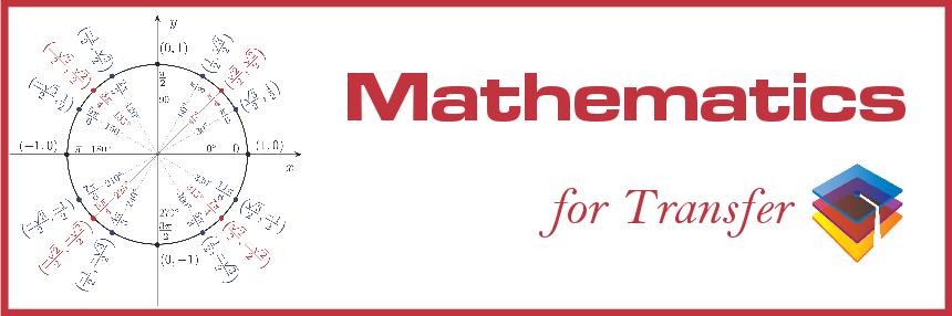 Mathematics for Transfer