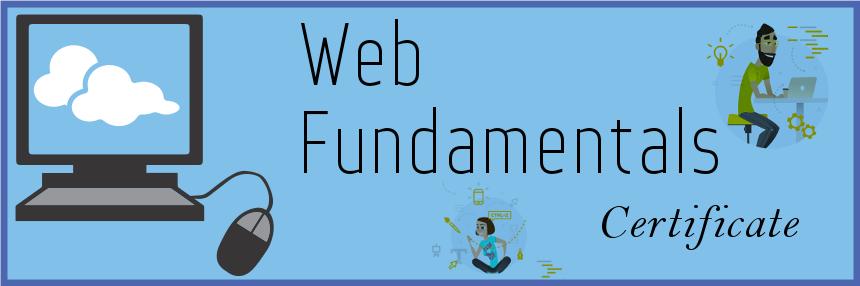 Web Fundamentals Certificate