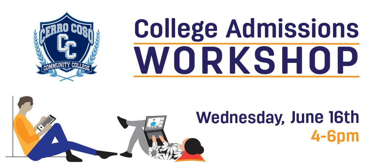 CCCC Admission Workshop Banner