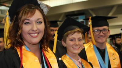 Cerro Coso Honors Graduates During Commencement Exercise