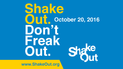 Great California ShakeOut!