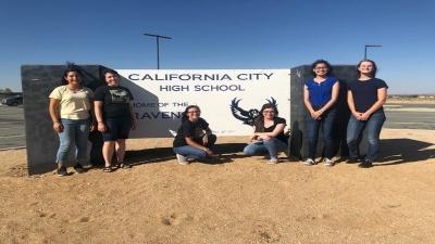Cal City High School Students Graduate College