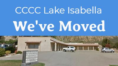 Lake Isabella Location has moved