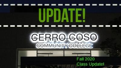 College Plans for Fall 2020 Classes