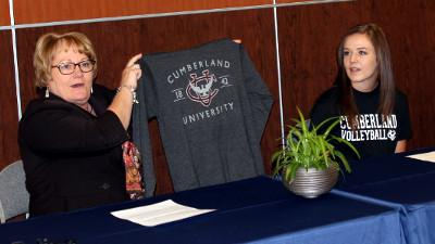Signing Day for Coyote Ashley Sherrick