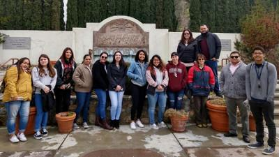 Students Visit César E. Chávez National Monument
