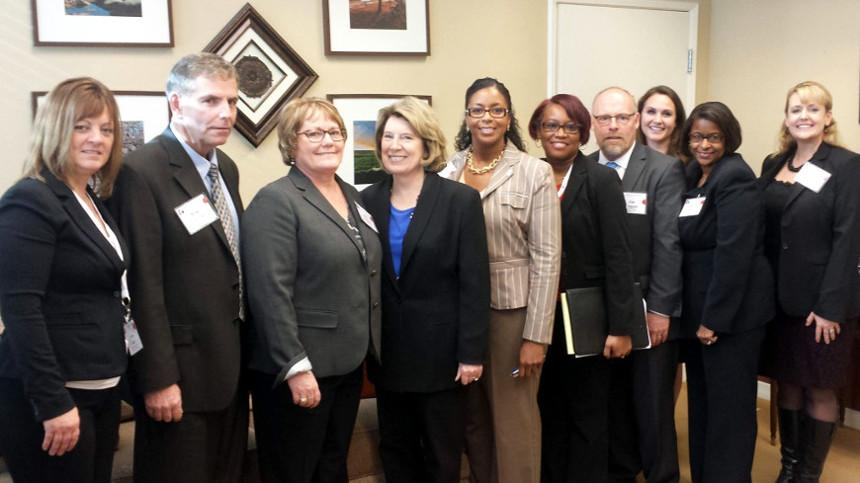 KCCD Leadership Academy Advocates for Community Colleges