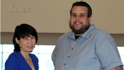 Rebecca Pang and Justin Witt