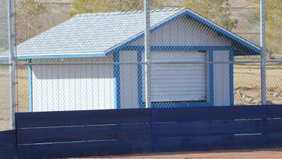 Softball Gets New Press Box