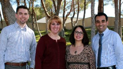 Four Recipients of CCCC Excellence Award