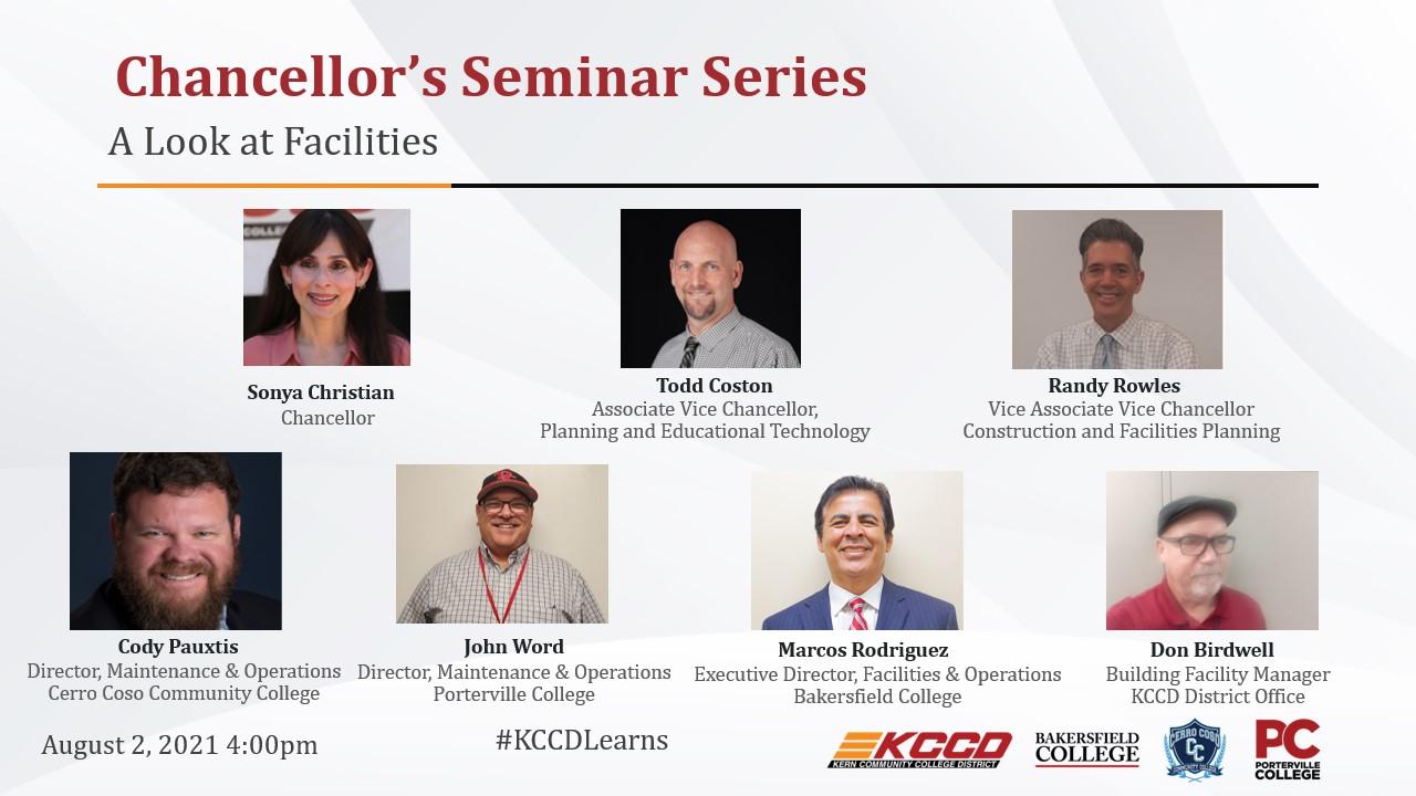 Seminar Series Speakers