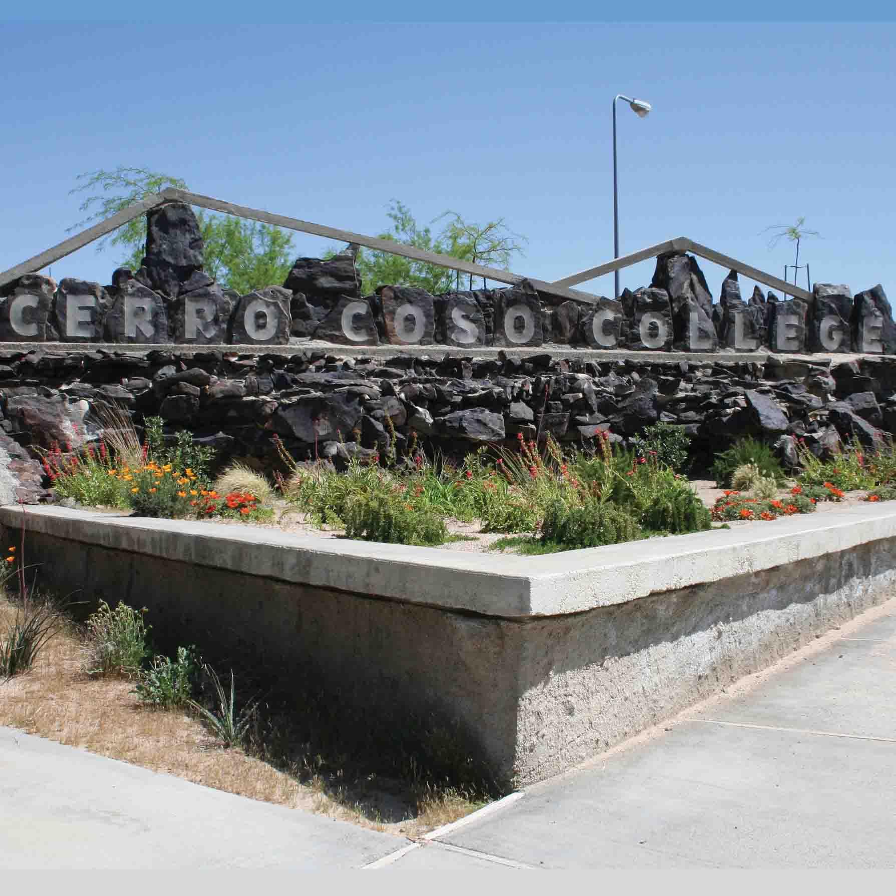 Cerro Coso Community College Welcome Sign