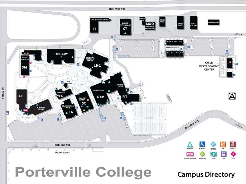 PC Campus Map
