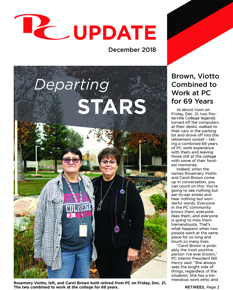 Download the latest PC Newsletter