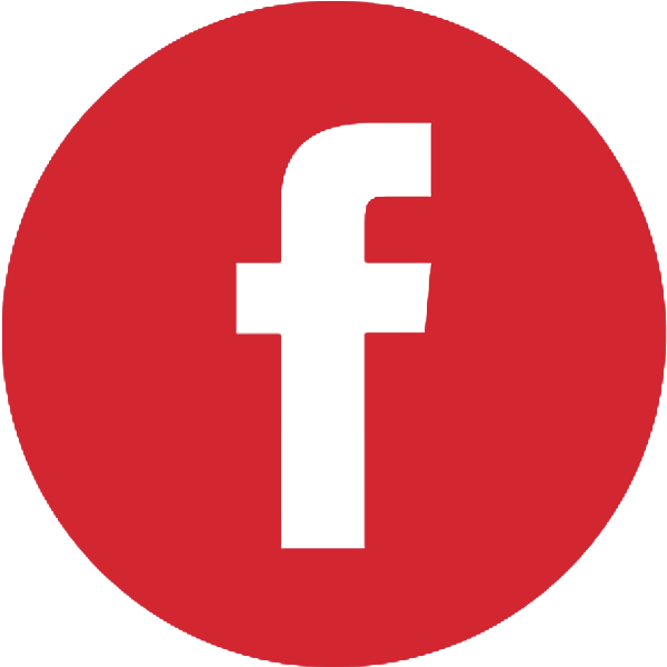 Facebook Icon Red