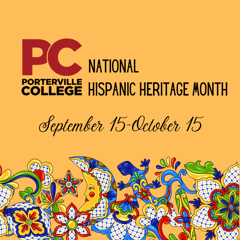 Hispanic Heritage Month Events 2021