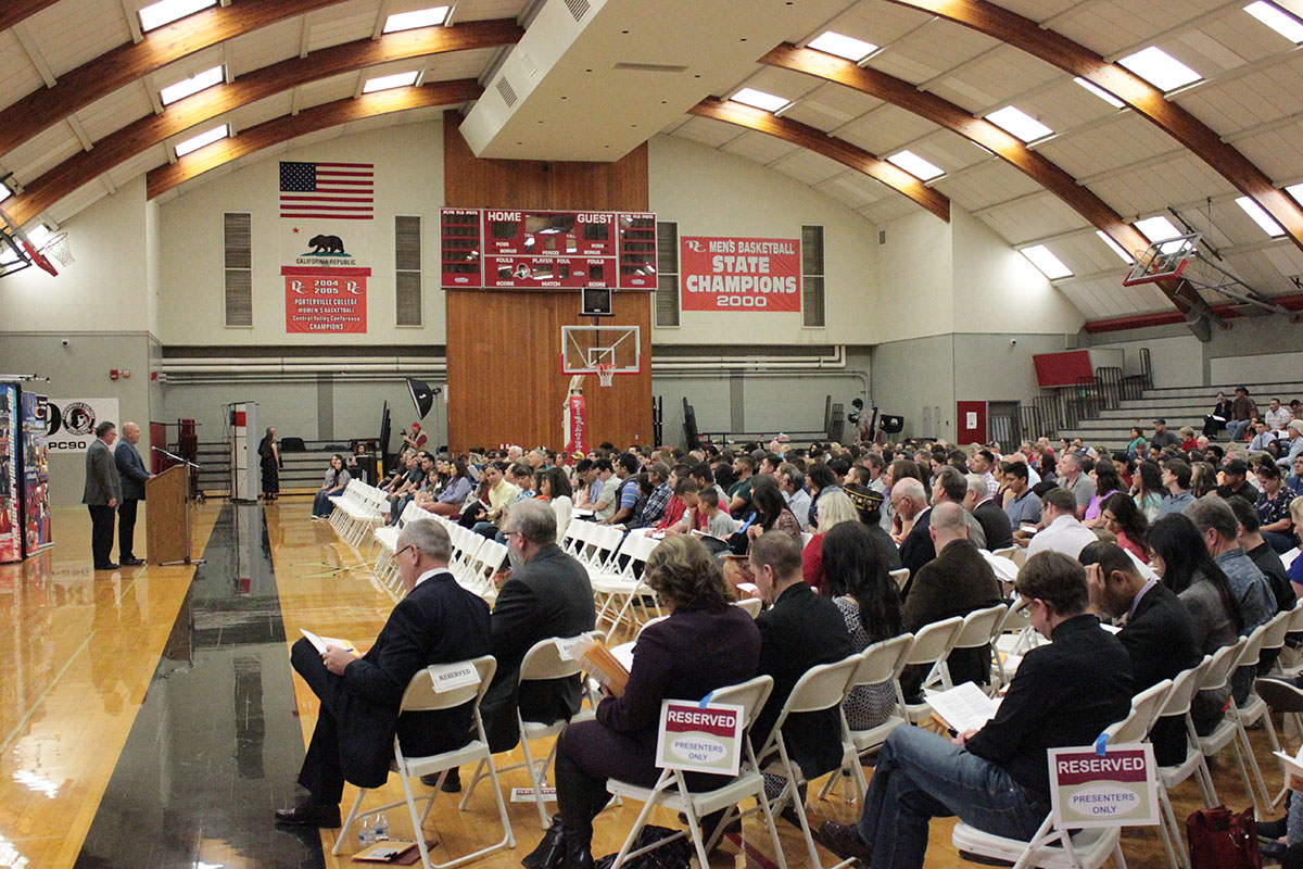 PC Scholarship Night in the Gym