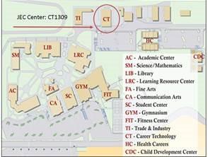 Contact JEC | Porterville College