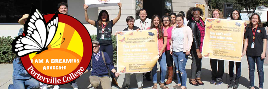 Dreamers Header - Staff and Students