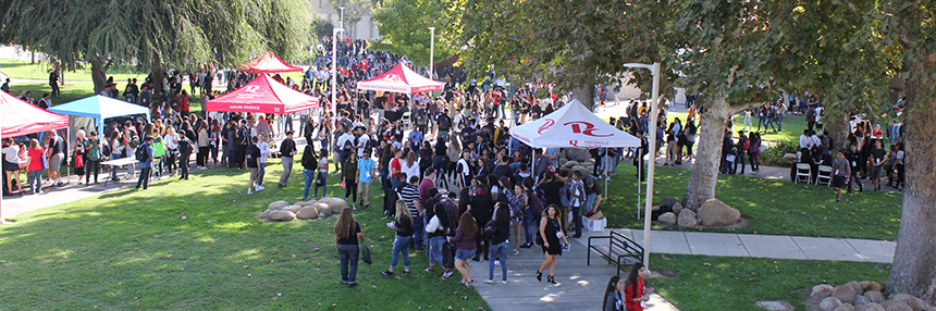event on campus