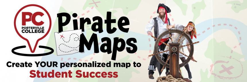 Pirate Map Page Header
