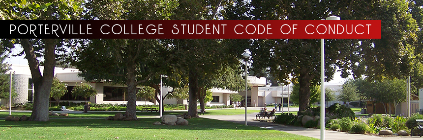 PC Student Code of Conduct