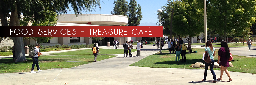 Food Services - Treasure Café
