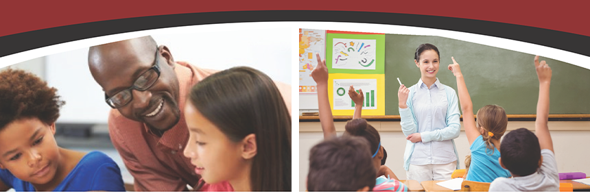 teacher education home page header