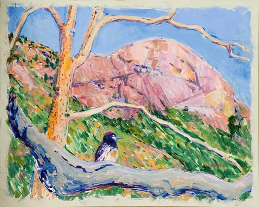Morro Rock Collier painting