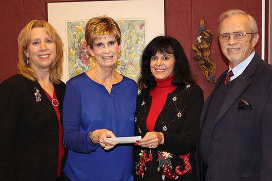 Family Housing for Education made a $130,000 donation to the Porterville College Foundation over the holiday break.