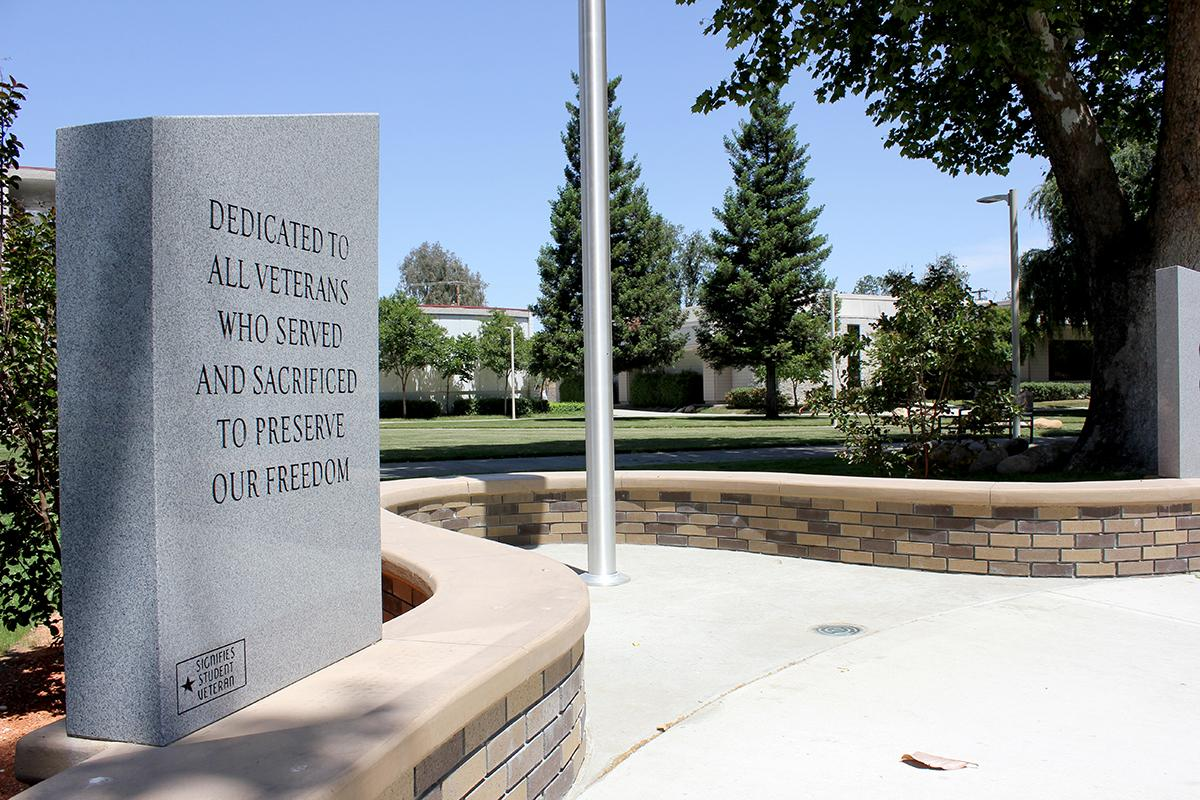 PC Veterans Memorial pictured